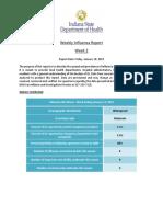 Weekly Influenza Report Week 2 2018 2019