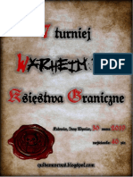 Regulamin Turnieju Warheim Fs Katowice 20190330