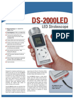 Lampara estroboscopica DS-2000
