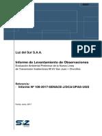 16. EVAP Nueva Linea de Transmision San Juan Chorrillos - Inf. Adicional