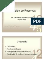 ValuacionDeReservas