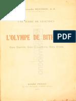 l' Olympe de Bithynie
