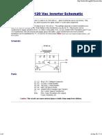 12Vdc - 120Vac Inverter