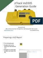 Shottrack report guide
