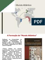 Formação Do Mundo Atlantico