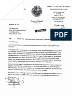 State Attorney's Office letter to Marco Island PD regarding Tige Thompson