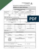 Ficha Admision