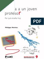 Carta a un joven profesor. Por qué enseñar hoy - Philippe Meirieu.pdf