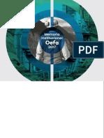 Memoria Institucional OEFA 2017