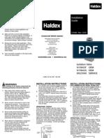 Isolation Valve Instructions Spanish) L31064 12-07