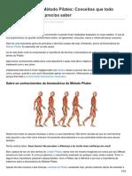 A Biomecanica do Metodo Pilates