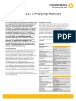 Fact Sheet ComStage MSCI Emerging Markets ETF LU0635178014 de 20180517
