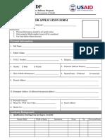 m Sdp Job Applicationform