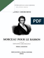 Cherubini, Luigi - Morceau - Piano