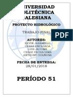Trabajo de Cuenca Hidrografica Río Psiquie