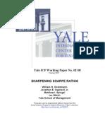 SharpeningSharpe