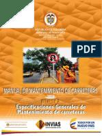 Manual de Mantenimiento de Carreteras 2016_V2
