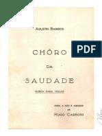 Barrios Choro Da Saudade-copia Hugo Carboni