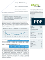 Fact Sheet IShares STOXX Europe 600 Technology de DE000A0H08Q4 de 20180430