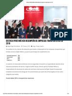 18-01-19 Destaca Ryder México desempeño de empresas transportistas en 2018