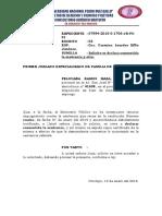 modelo de escrito de Solicitud Para Consentir Sentencia y Expedir Copia Certificada.