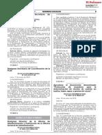 Designan Secretaria de Coordinación de La PCM