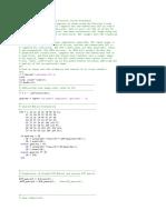 Jpeg cmatlab code