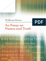 (2007) [Hinzen] an Essay on Names and Truths