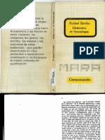 Elementos de Semiologia Roland Barthes.1