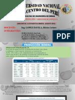 Analisis de Estadistica Minera 2018