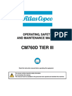 Atlas Copco CM760d Tier III Instruction Manual