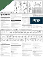 Topeak 130 Manual