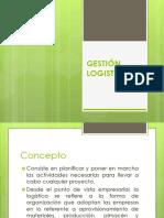 1.- Concepto de Logística