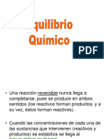 13.Equilibrio Quimico 2015-II