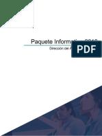 Paquete Informativo 2019