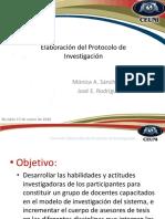 Elaboración Del Protocolo