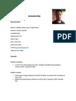 Currículum Vitae- Damián Lovagnini