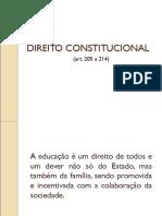 1.1 RESUMO CONSTITUI+ç+âO ARTIGOS 205 A 214