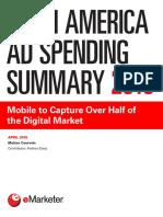 Latin America Ad Spending Summary 2018 EMarketer