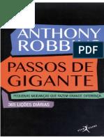 Passos de Gigante Anthony Robbins