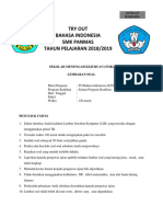 Print Try Out Bahasa Indonesia 20182019