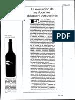 Davini-2000-La Evaluacion de Los Docentes Debates y Perspectivas