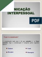 Gestão Aplicada - COMUNICAÇÃO INTERPESSOAL