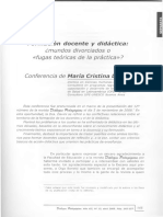 Davini-2009-Formacion Docente y Didactica-Fugas Teoricas de La Practica