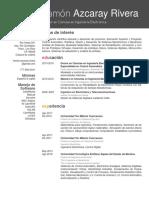 CV DR Héctor Azcaray