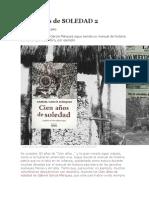 Cien Años de Soledad Soledad .COM 2