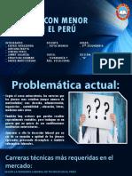 Carreras Con Menor Empleo en El Perú