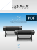 FAQ HP DesignJet Z6 and Z9+