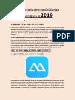 Las 25 Mejores Apps Educativas Para Maestros en El 2019 PDF