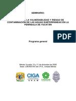 Programa General UADY Cenotes